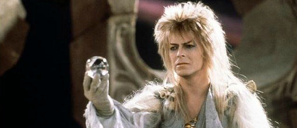 Bowie's life in film