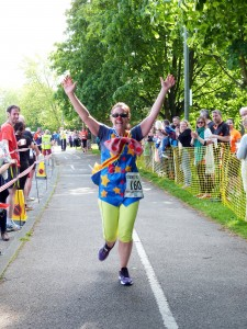 charity runner-Karen Hart for RETT UK